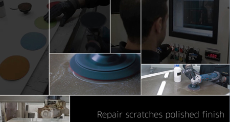 nical info How to Remove Scraches on Polished Slabs